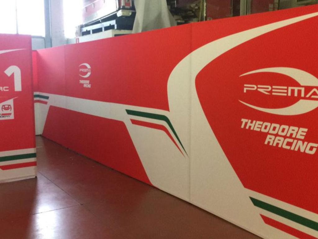 Prema Racing - BoxLight